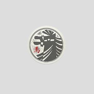 horseA73dark Mini Button