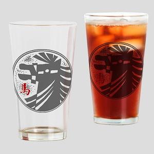 horseA73dark Drinking Glass
