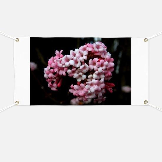 Pink Flower Banner