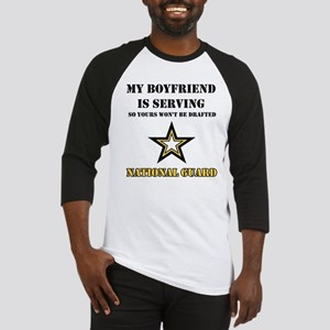 National Guard - My Boyfriend Baseball Jersey
