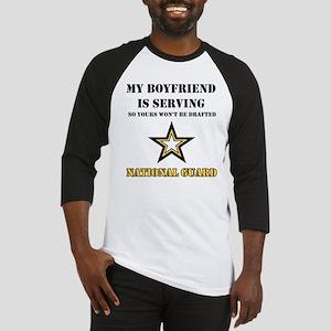 National Guard - My Boyfriend Baseball Jersey