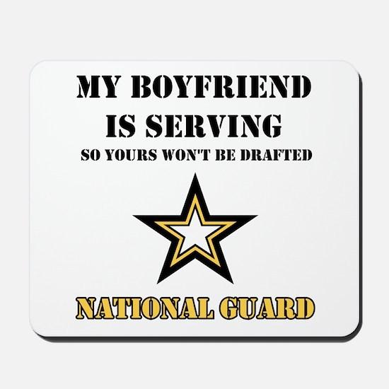 National Guard - My Boyfriend Mousepad