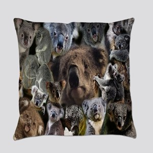 Happy Koalas Everyday Pillow