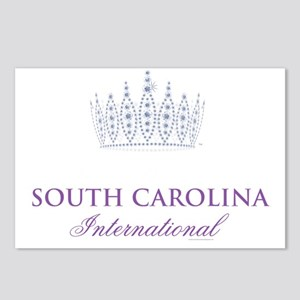 Miss  Miss Teen South Car Postcards (Package of 8)