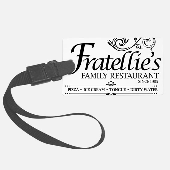 Fratellies Italian Family Restaurant Luggage Tag