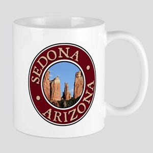 Sedona - Cathedral Rock Large Mugs