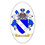 Eiaenfarb Sticker (Oval 10 pk)