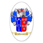 Ehmann Sticker (Oval 50 pk)