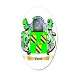 Egyed Oval Car Magnet