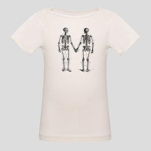 Skeletons Organic Baby T-Shirt