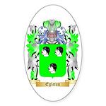 Egleton Sticker (Oval 50 pk)