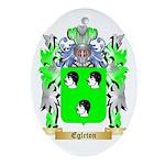 Egleton Ornament (Oval)
