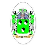 Eggleton Sticker (Oval 50 pk)