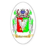 Eggleston Sticker (Oval 50 pk)