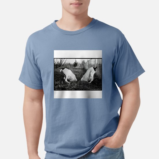 GSP Dogs in a Hole T-Shirt