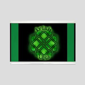 Irish Luck in Black Magnets