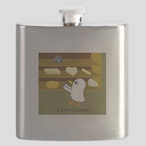 I love cheese! Flask
