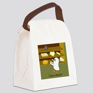 I love cheese! Canvas Lunch Bag