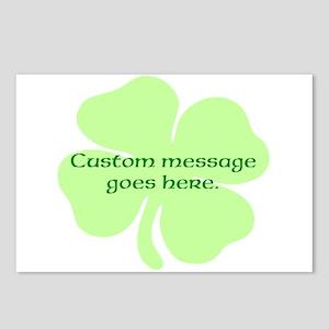 Custom Saint Patricks Day Design Postcards (Packag