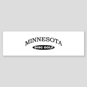 Minnesota Disc Golf Sticker (Bumper)