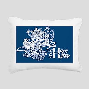 Schape Shifter Kustoms Rectangular Canvas Pillow