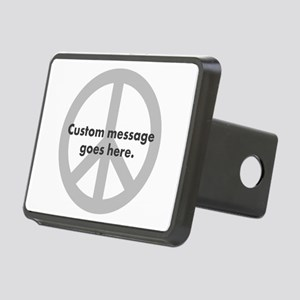 Say Your Peace - Custom Peace Design Hitch Cover