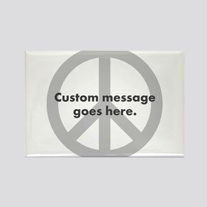 Say Your Peace - Custom Peace Design Magnets