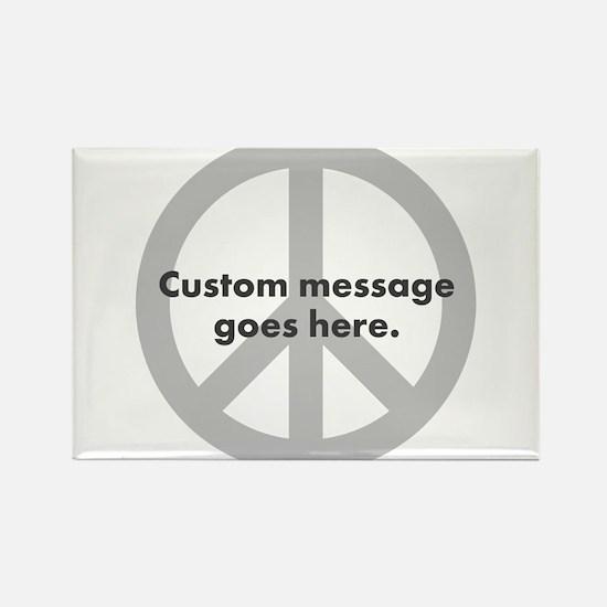 Say Your Peace - Custom Peace Design Magnets