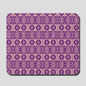 Elegant Vintage Purple Mousepad