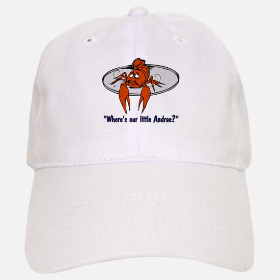 """Where's Our Little Andrae?"" Baseball Baseball Cap"