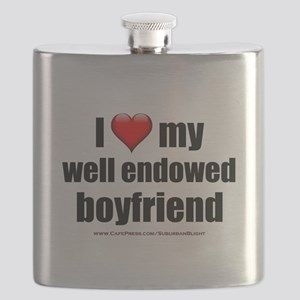 I Love My Well Endowed Boyfriend lightapparel Flas