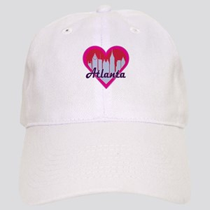 Atlanta Skyline Heart Baseball Cap