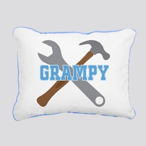 Grampy Handyman Rectangular Canvas Pillow