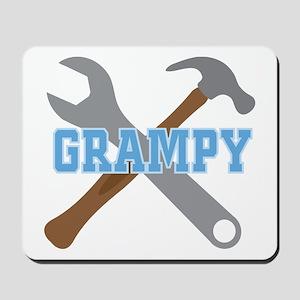Grampy Handyman Mousepad