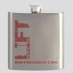 LIFT LIKE YOU MEAN IT - BLACK Flask