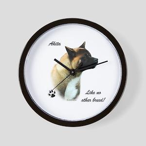 Akita Breed Wall Clock