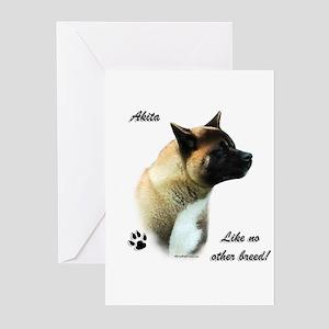 Akita Breed Greeting Cards (Pk of 10)