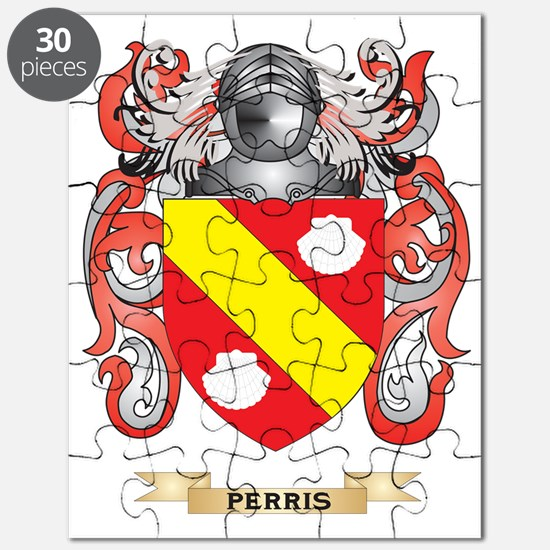 Perris Coat of Arms (Family Crest) Puzzle