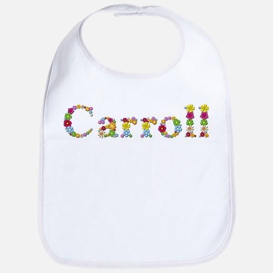 Carroll Bright Flowers Bib