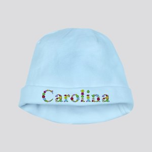 Carolina Bright Flowers baby hat