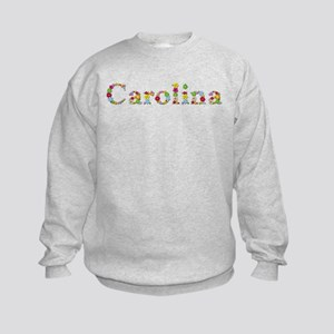Carolina Bright Flowers Sweatshirt