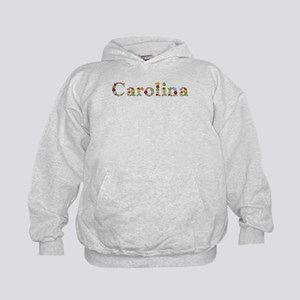 Carolina Bright Flowers Hoodie