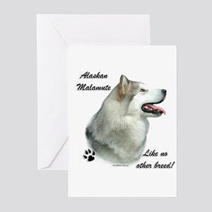 Malamute Breed Greeting Cards (Pk of 10)