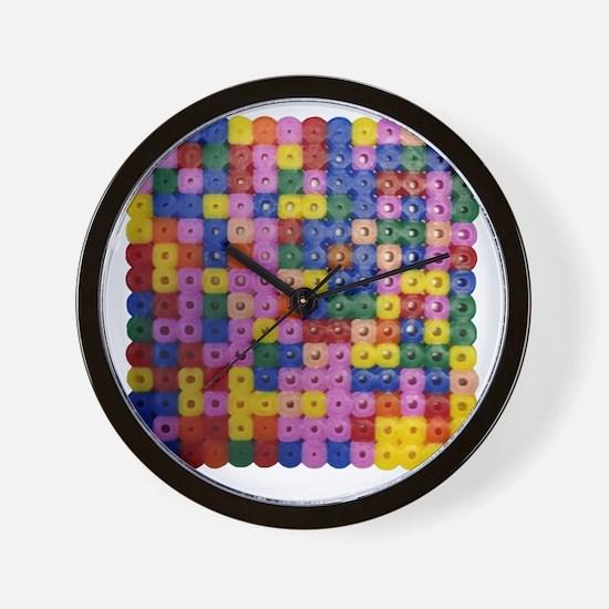 Hama Colour Block Wall Clock