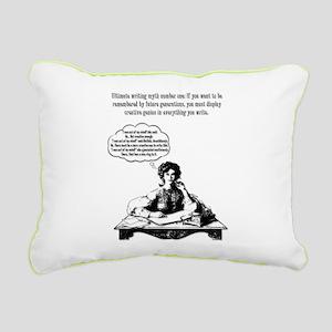 Writing Myth #1 Rectangular Canvas Pillow
