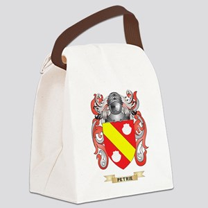 Petrie Coat of Arms (Family Crest Canvas Lunch Bag