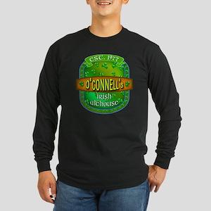 Custom O'Connells Alehouse Long Sleeve Dark T-Shir