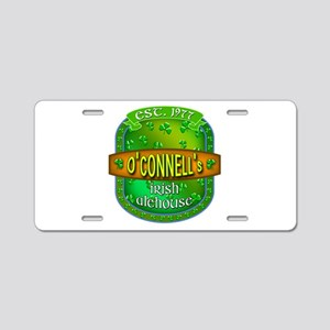 Custom O'Connells Alehouse Aluminum License Plate