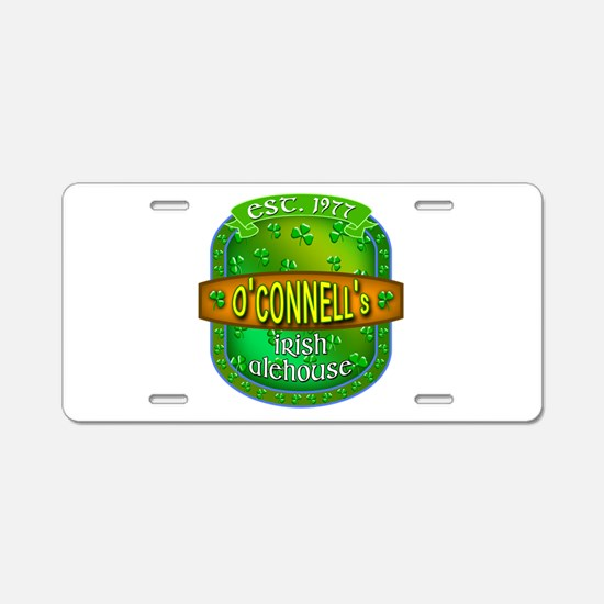 Custom O'Connells Alehouse Aluminum License Plate