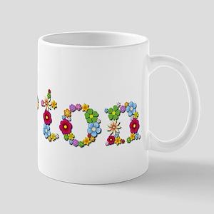 Burton Bright Flowers Mugs
